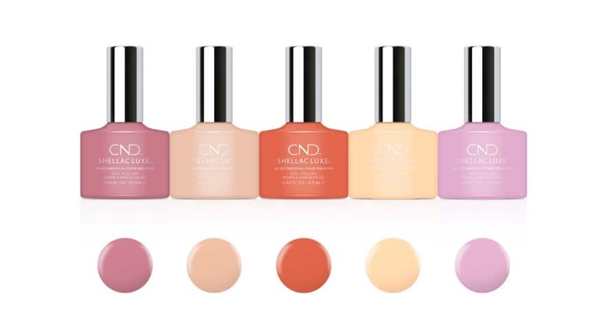 CND Sweet Escape The Collection CND SHELLAC LUXE Gel Polish