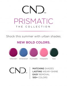 CND Prismatic Collection Shellac Vinylux Nail Polish Supply