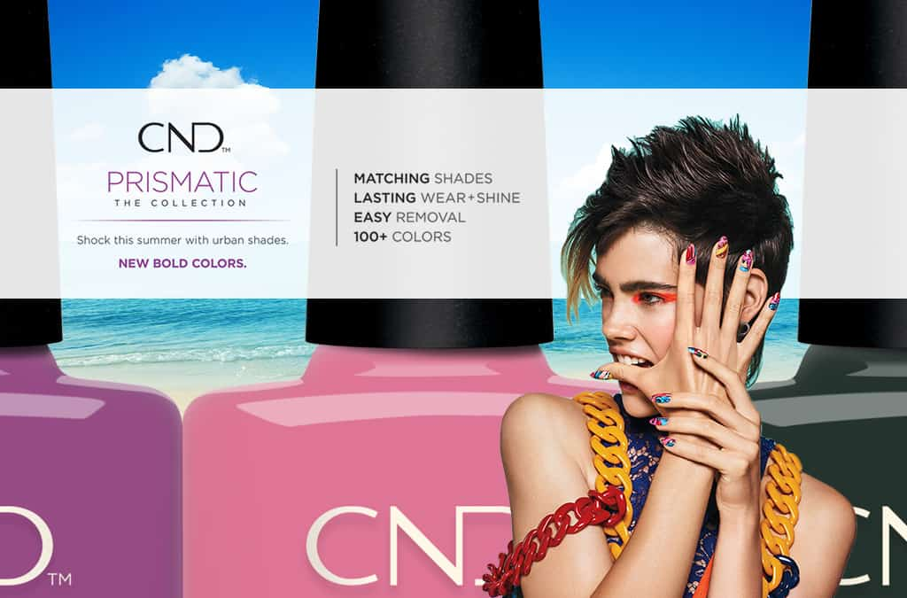 CND Prismatic Collection Shellac Vinylux Nail Polish