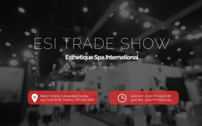 ESI 2019 | B2B Aesthetic & Spa Trade Show | Toronto ON
