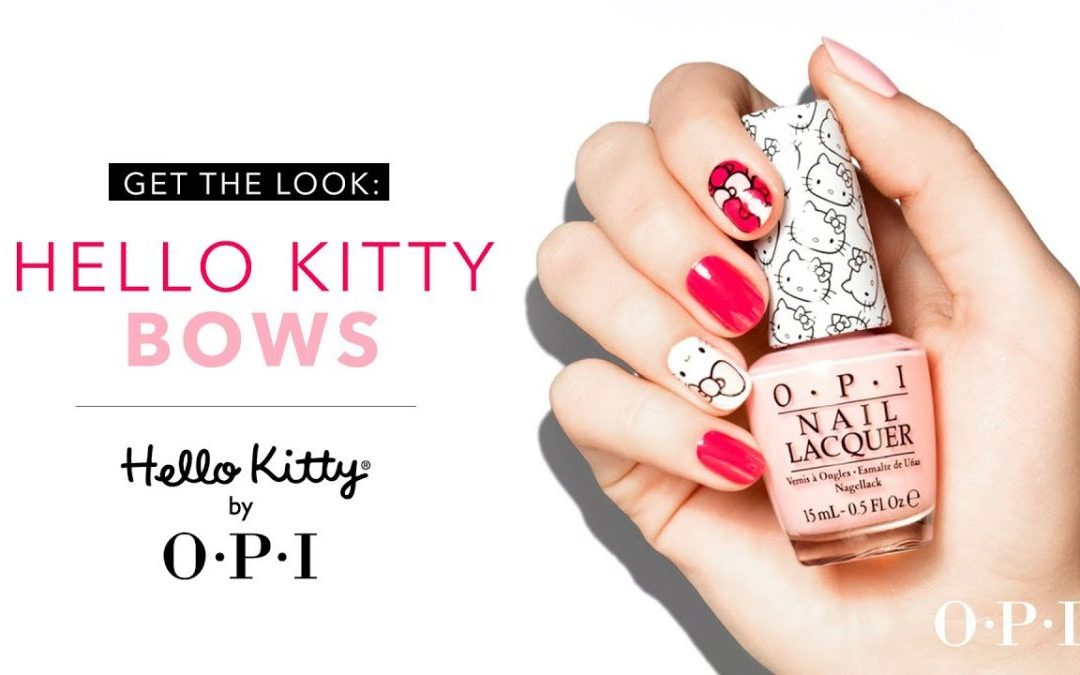 Coming Soon Hello Kitty by OPI New Collection 2019