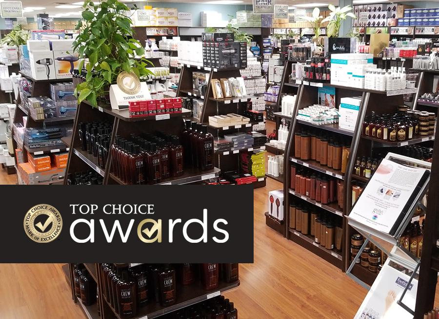 Nails R Us Top Choice Award